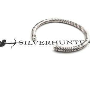 David Yurman 5mm Cable Classics Pearls & Diamonds